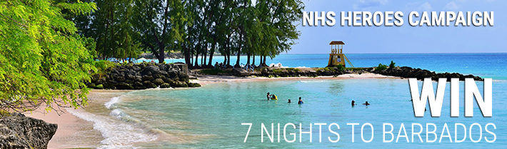 NHS Heroes Campaign - Win 7 night Trip to Barbados NHS_Heroes